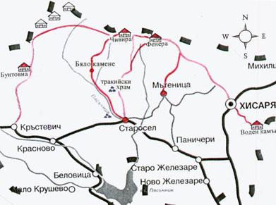 Asenovgrad Malkiyat Erusalim Ukazatel Na Paraklisite V Grada
